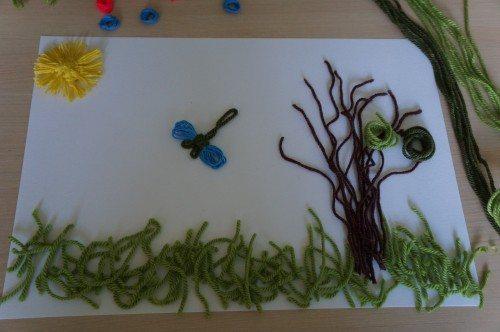 игры для детей из ниток