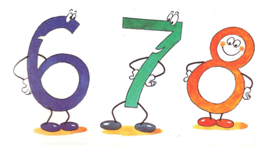 картинки для детей цифры