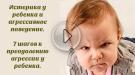 7 шагов к преодолению агрессии у ребенка. Детские истерики и агрессия.