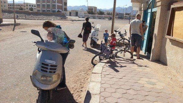 Передвижение по городу, Дахаб, Египет