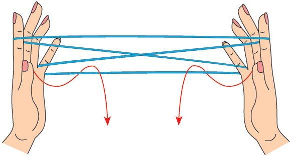 игры с нитками - плетенка3