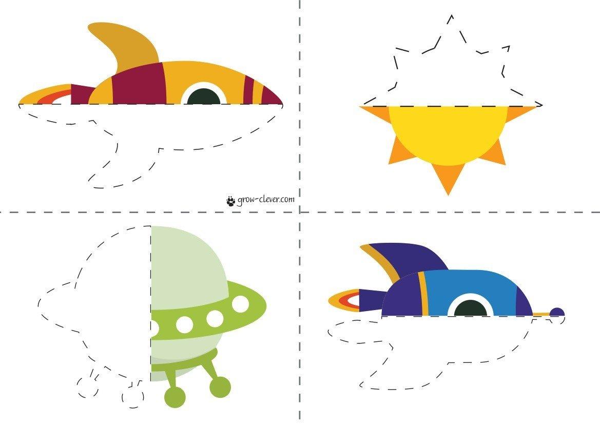 Игра для детей на тему космос, 2 лет, 3 лет, 4 лет