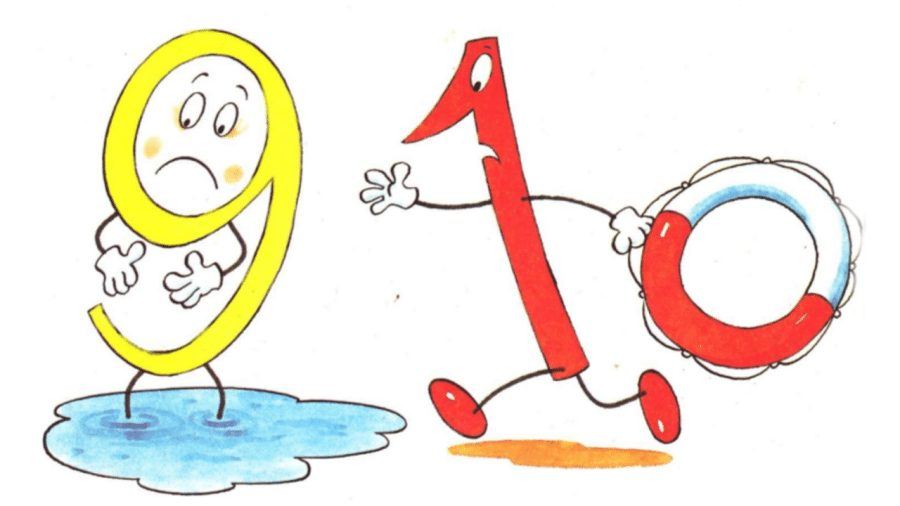 Считалочки - учим цифры от 6 до 10 - серия АРИФМЕТИКА ДЛЯ ДЕТЕЙ