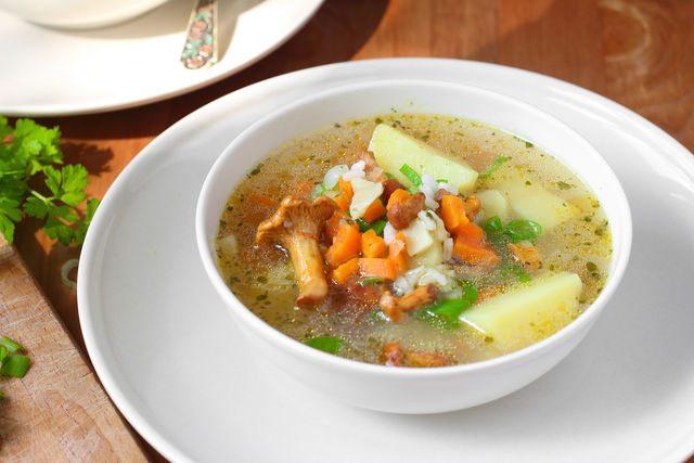 овощной суп 1
