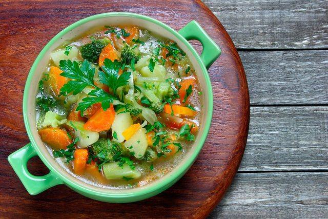 овощной суп 3